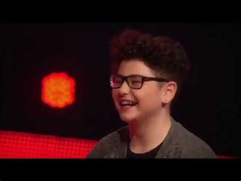 "the voice kids germany 2018 flavio ""skyfall"" blind"