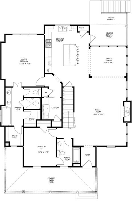 house plan 110 00135 ranch 110 best ranch house ideas images on pinterest kitchens