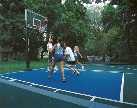 build    play basketball court
