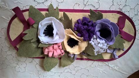 fiori di panno gla crea tutorial composizione di fiori di panno senza