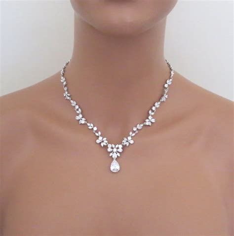 hochzeitsschmuck kette bridal jewelry set wedding necklace set bridal necklace