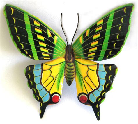 Decorative Butterflies by Painted Metal Decorative Butterflies Dragonflies