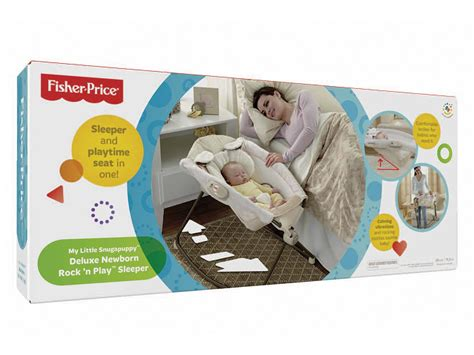 Fisher Price Side Sleeper by Fisher Price Snugapuppy Newborn Rock N Play
