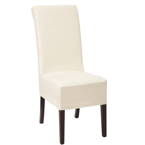 Dining Chair Back Covers Cotton Slip Cover For Echo Dining Chair Oka