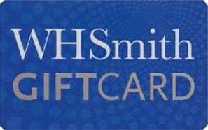 Can You Use A Smith S Gift Card For Gas - whsmith gift card gift vouchers