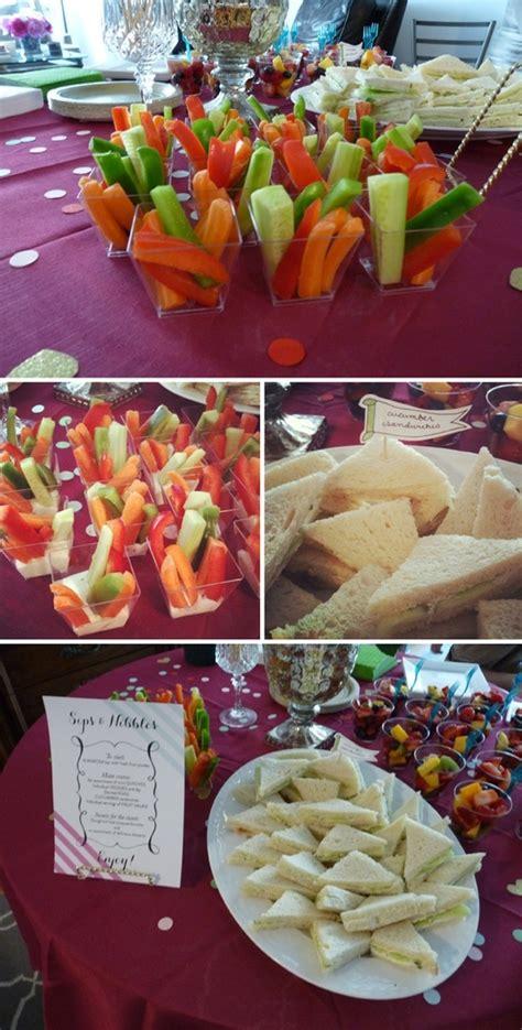 bridal shower finger food desserts baby shower finger foods if not doing dessert or a