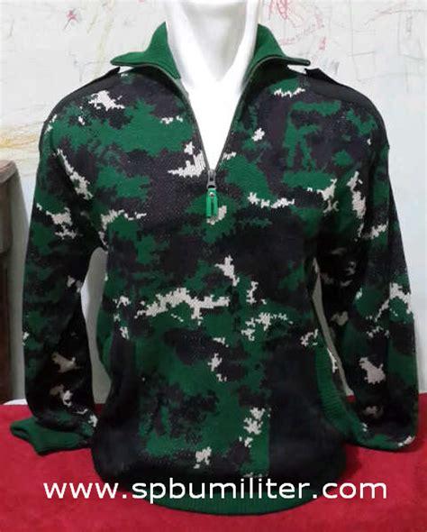 Sweater Loreng Kopassus sweater loreng spbu militer