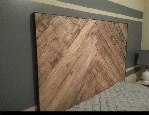 wood headboard designs best 25 wood pallet headboards ideas on