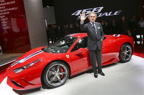 Ferrari Ceo Luca Di Montezemolo Is Stepping Down After 23