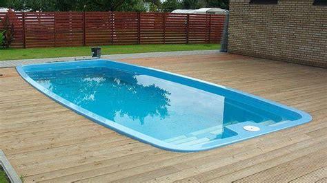 swimming pool simple and cheap fiberglass swimming pool