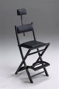 portable reclining makeup chair a
