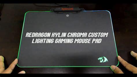 Kylin Gaming Mousepad Chroma redragon kylin chroma custom lighting gaming mouse pad