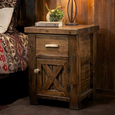 Rustic Wood Nightstand by 25 Best Ideas About Rustic Nightstand On