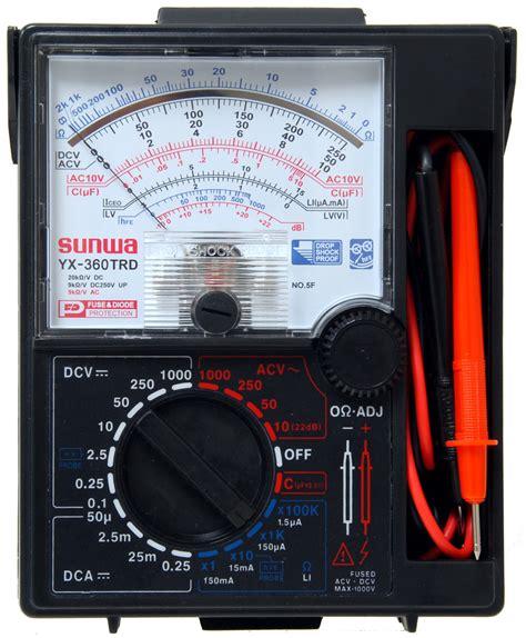 Multimeter Analog Dan Digital cara menggunakan multimeter analog info ke jepang