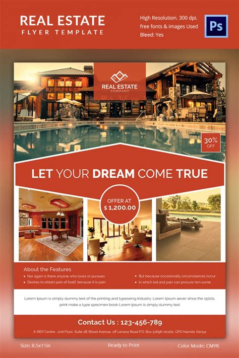 Real Estate Flyer Template 35 Free Psd Ai Vector Eps Format Download Free Premium Templates Real Estate Flyer Template
