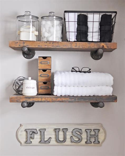 17 best ideas about industrial pipe shelves on