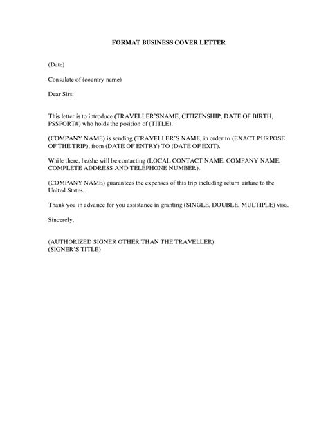 Proper Business Letter Format Cover Letter by Business Cover Letter Format Crna Cover Letter