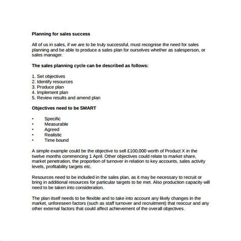 sales business plan format insssrenterprisesco