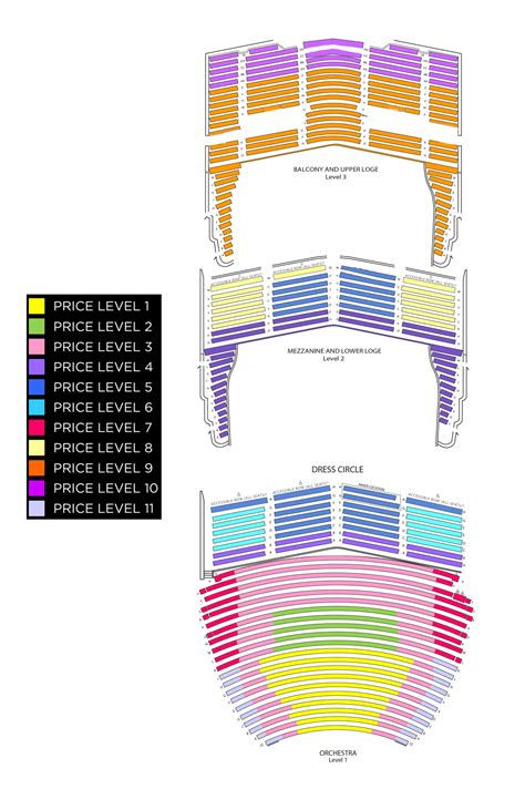 san diego civic center seating note that numbered seats are on one side of the