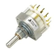 Fujitsu Rotary Switch 3 Pole 26 Step Silver Plated Contact Nos 2 Pcs shop for daka ware knobs trafos shielding sheets inductors frontpanels iec jacks and