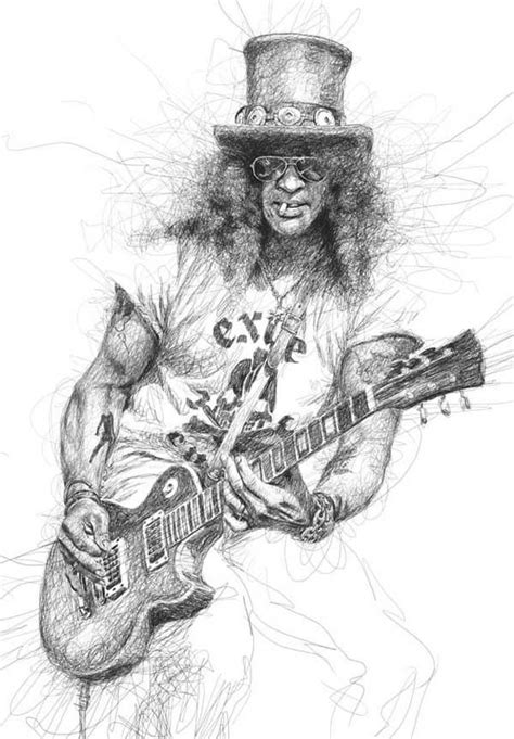 Drawing N Sketches by Vince Low Slash Scribble Drawing Pen Pencil Sketches