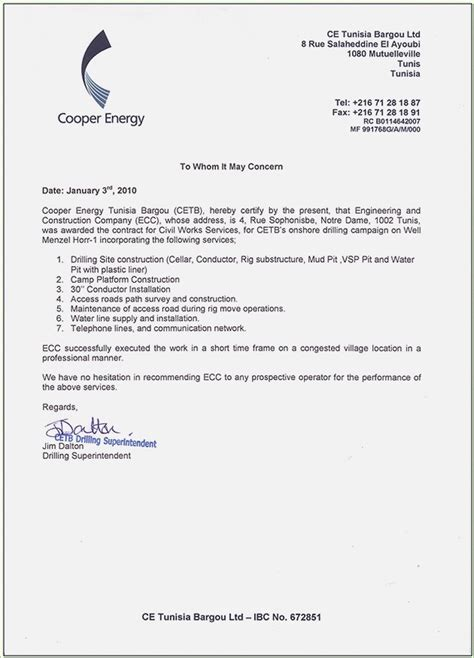 experience letter format for civil engineer experience certificate format letter for civil engineer