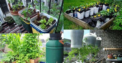 diy  watering container garden ideas balcony