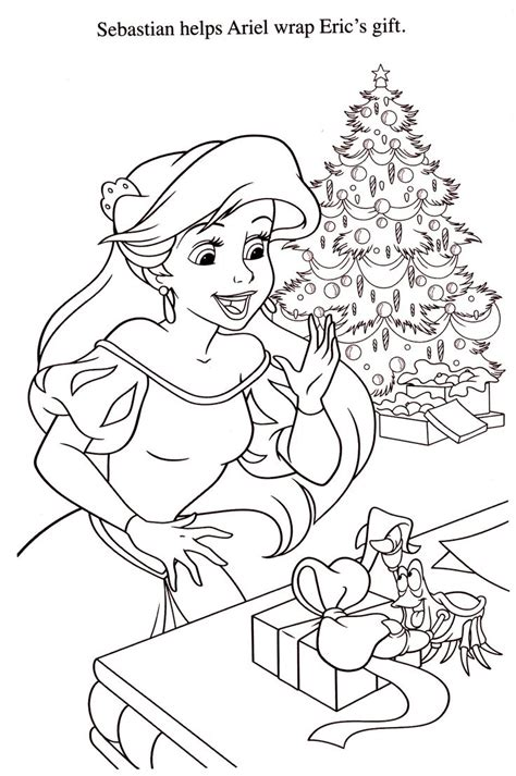 ariel winter coloring pages 871 best images about christmas and winter coloring pages