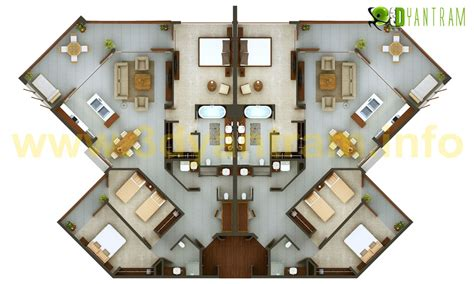 3d floor plans architectural floor plans residential 2d floor plan services yantram architectural