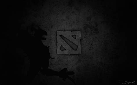 wallpaper dota 2 black dota 2 logo image 9e wallpaper hd