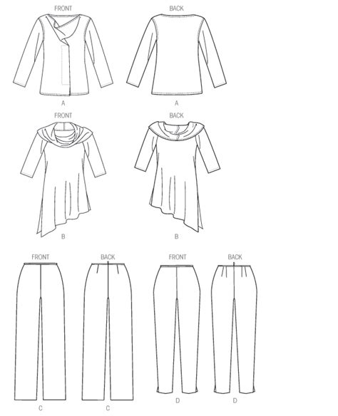 Pattern Review Vogue 1415 | vogue patterns 1415 misses tunic and pants