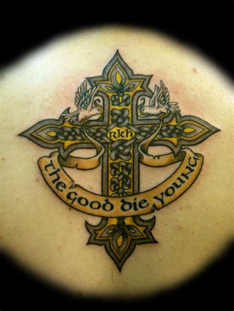 tattoo history in ireland irish woman wiccan names celtic cross tattoos the