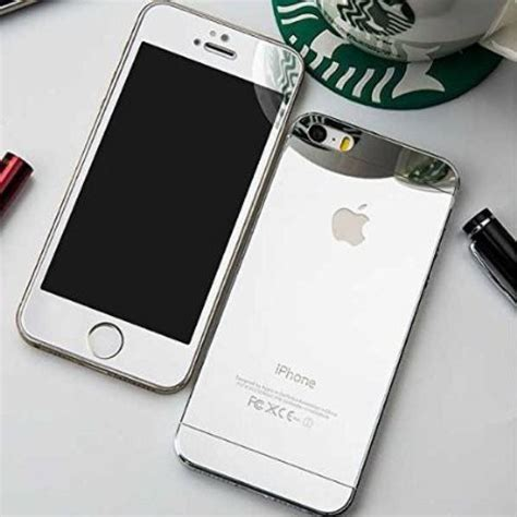 Iphone 55s Tempered Glass 026mm buy galaxy silver colour front back tempered glass for iphone 55s at 72 in india kraftly