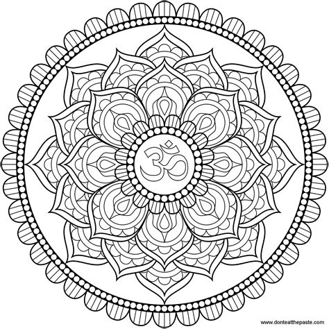 mandala coloring in pages mandala only coloring pages