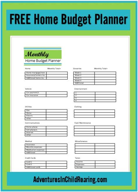 easy printable budget planner 17 best images about money savers on pinterest posts