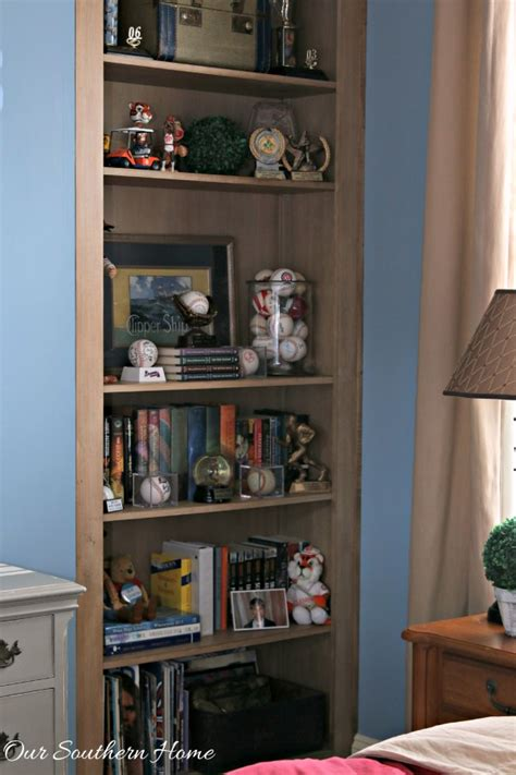 bookshelves for boys decorating bookcases for boys our southern home