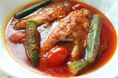 masak asam pedas ikan merah  terlajak sedap wangcyber