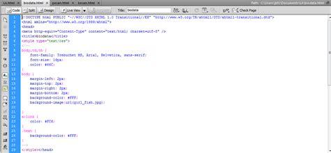 membuat web html dengan dreamweaver wati puspitasari cara membuat web bebas dengan link