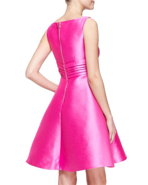 Hm Dress Babol Square Fit L Besar kate spade new york sleeveless fitandflare dress with bow