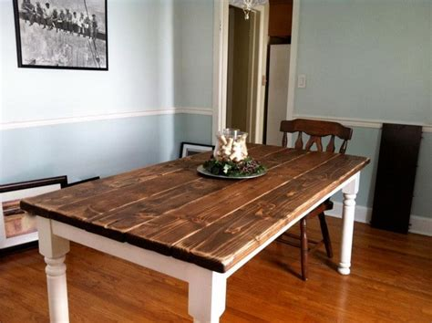 How To Build A Dining Room Table How To Build A Vintage Style Dining Room Table Yourself Removeandreplace