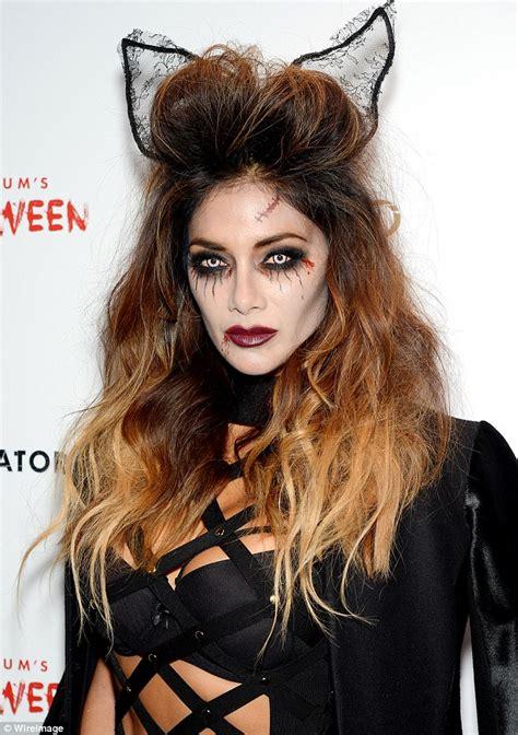 dress up like a dead celebrity nicole scherzinger looks like a cat at heidi klum s