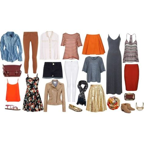 Capsule Travel Wardrobe by Travel Capsule Wardrobe Polyvore Poe Poe