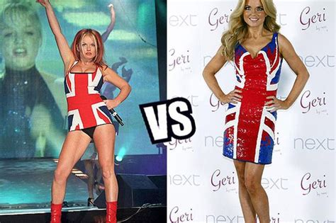 Buy Geri Halliwells Brit Awards Dress by Geri Halliwell Launches Union Collection For Next And