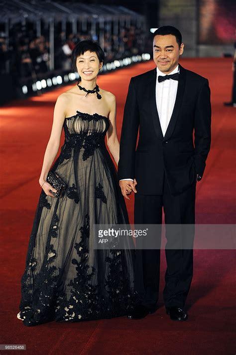 hong kong british actor hong kong actor sean lau and his actress wife amy kwok