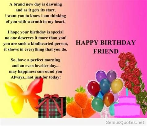 images for a friend happy birthday special friend quote
