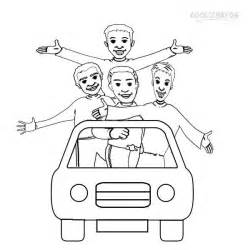 the wiggles coloring pages pin the wiggles colouring pages on