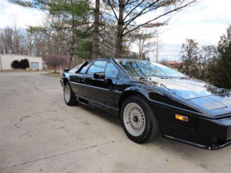 1986 lotus esprit car photo and specs purchase used 1986 lotus esprit turbo hci in saint clair michigan united states