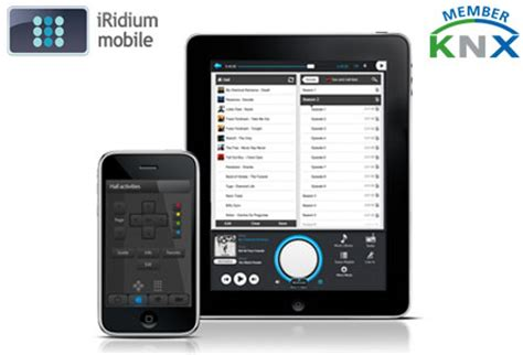 iridium release new version of knx home automation