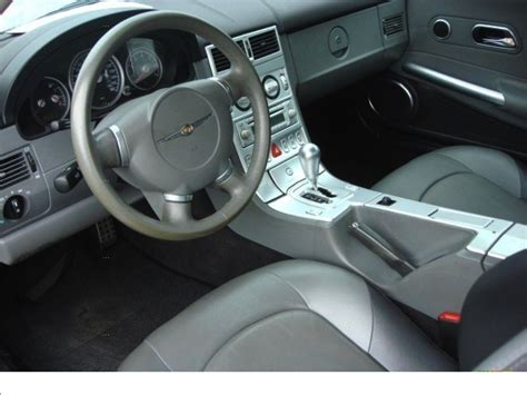 2004 Chrysler Crossfire Interior 2004 chrysler crossfire interior pictures cargurus