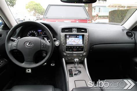 Is350 Interior Showdown 2010 Lexus Is F Versus 2010 Lexus Is350 With F